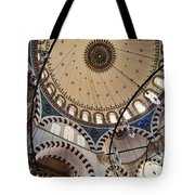 Domed Roof Of Rustem Pasa Mosque Tote Bag