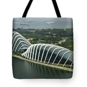 Domes Inside The Gardens By The Bay In Singapore Tote Bag