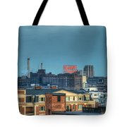 Domino Sugars Sign Day Tote Bag