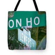 Don Ho Street Tote Bag