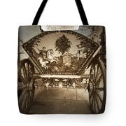Donkey Cart Tote Bag by Cliff Norton