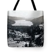 Donner Lake - California - C 1865 Tote Bag
