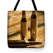 Don't Bite The Bullet Tote Bag