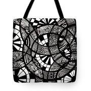 Doodle Circular  Tote Bag