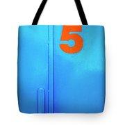 Door Five Tote Bag by Carlos Caetano