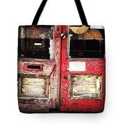 Door Tote Bag by Katie Cupcakes