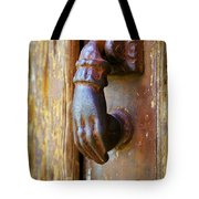 Door Knocker Tote Bag