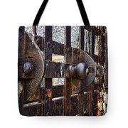 Door To Death Row Tote Bag