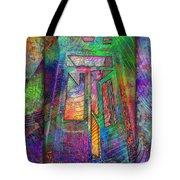 Door To The Lightness Of Being Tote Bag