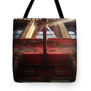 Door Top In Philadelphia Tote Bag by Katie Cupcakes