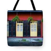 Doors And Shutters Tote Bag