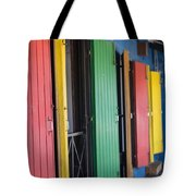 Doors Of Colors Tote Bag