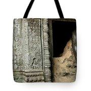 Doorway Ankor Wat Tote Bag