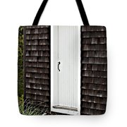 Doorway With Daisies Tote Bag by Michelle Wiarda