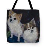 Dot And Dolly Tote Bag