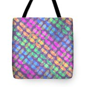 Dotted Check Tote Bag