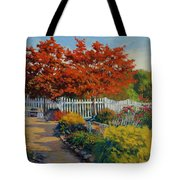Dotti's Garden Autumn Tote Bag