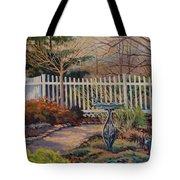 Dotti's Garden Winter Tote Bag