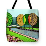 Doty Park Fluorescent Tote Bag