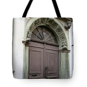 Double Door Tote Bag