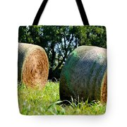 Double Hay Rolls Tote Bag
