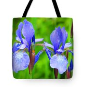 Double Iris Tote Bag