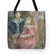 Double Portrait Of Charley And Jeannie Thomas Tote Bag