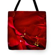 Double Red Tote Bag
