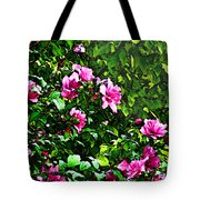 Double Rose Of Sharon Tote Bag