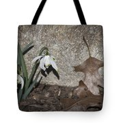 Double Snowdrops Tote Bag