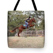 Double Up Hill Jump Tote Bag