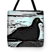 Dove At The Beach Tote Bag