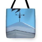 Dove Weather Vane Tote Bag