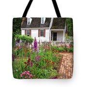 Down A Garden Path Tote Bag