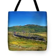 Down In The Valley Tote Bag