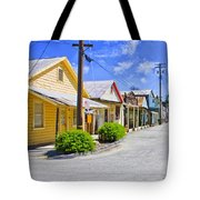 Down On Main Street Tote Bag