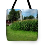 Down On The Wisconsin Farm Tote Bag