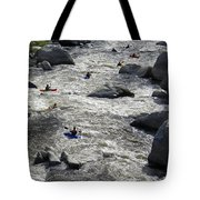 Down The Feather River Tote Bag