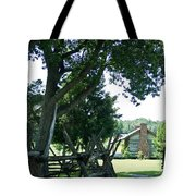 Down The Lane To The Cabin 1 Tote Bag