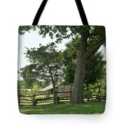 Down The Lane To The Cabin 3 Tote Bag