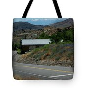 Down The Silver Road Tote Bag