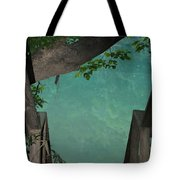 Down To The Creek Tote Bag
