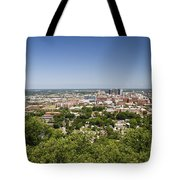 Downtown Birmingham Alabama On A Clear Day Tote Bag