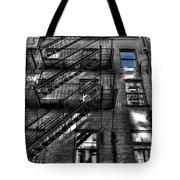 Downtown Blue Sky Dreams Tote Bag