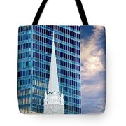 Downtown Blues Tote Bag
