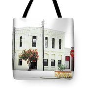 Downtown Flouresville Texas Tote Bag
