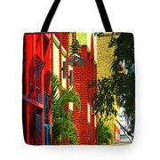 Downtown Ft Myers Tote Bag