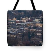Downtown Grants Pass Sunday Morning Tote Bag