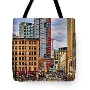 Downtown Hdr Tote Bag