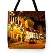 Downtown Newport Tote Bag